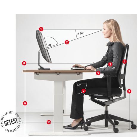 Havic-kantoormeubelen - Ergonomische bureaustoel