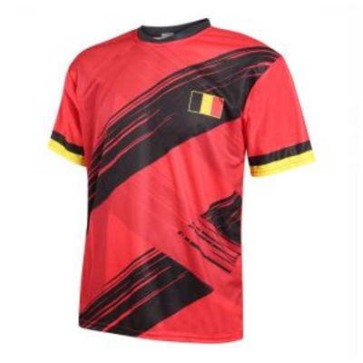 Moedig je team aan in een mooi België shirt